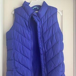 Girls royal blue frost free vest